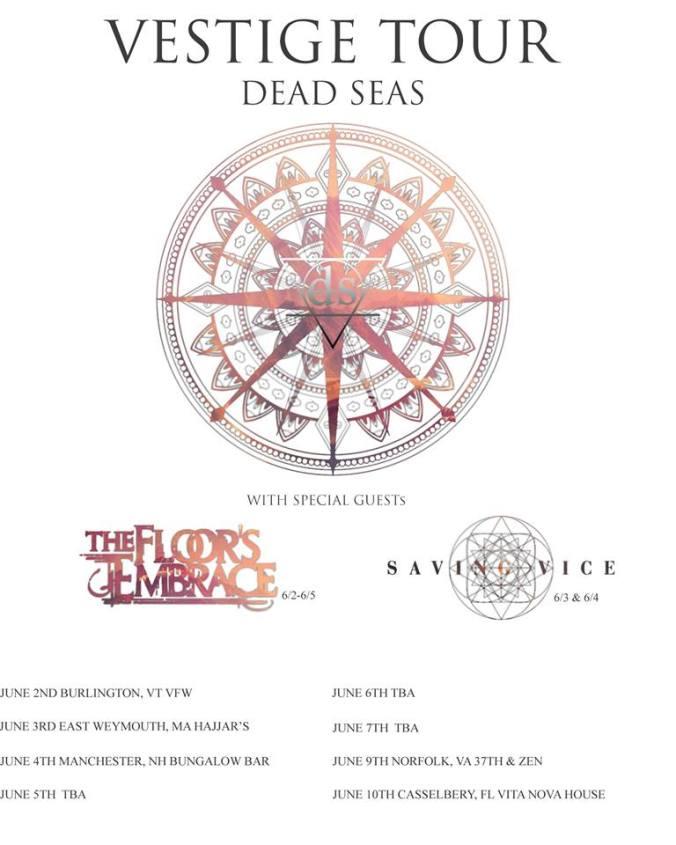 vestige tour dates